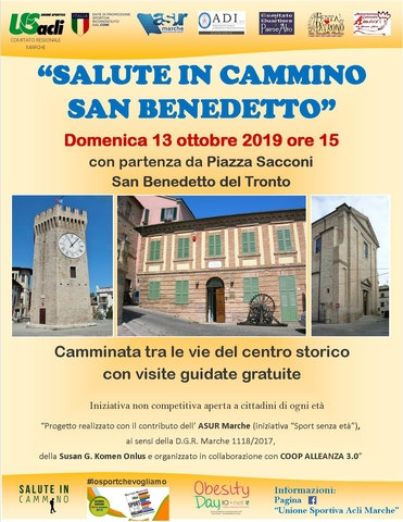 salute in cammino san benedetto13102019